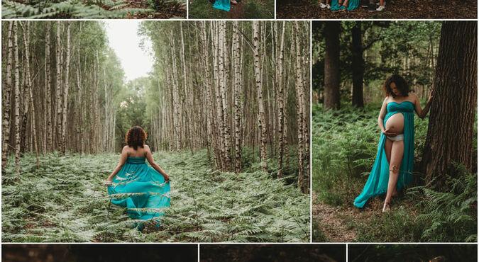 Cómo hacer una sesión de fotos para embarazadas en casa