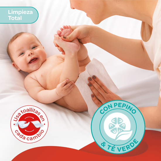 Toallitas Húmedas Huggies One & Done, 240uds