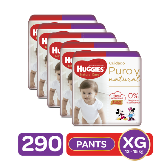 Combo Pants Natural Care Etapa 4, 290uds