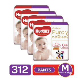 Combo Pants Natural Care Etapa 2, 312uds