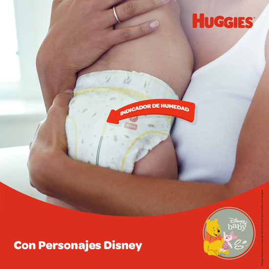 Pañales Huggies Natural Care Etapa 1/P, 50uds