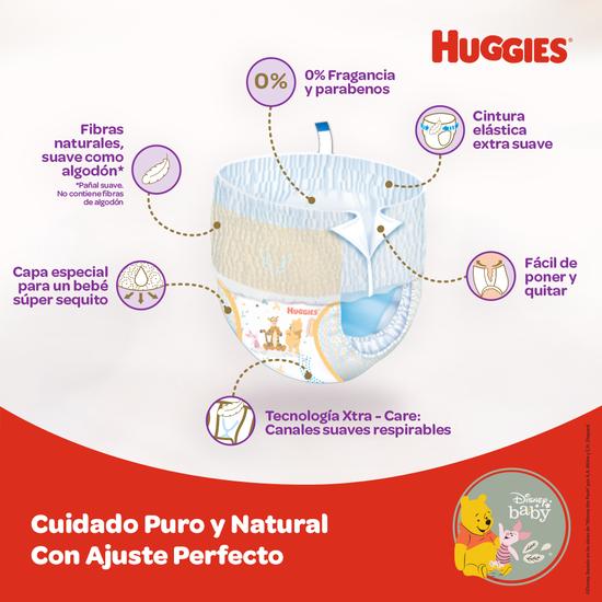 Pants Huggies Natural Care Etapa 2/M, 78Uds