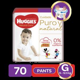 Pants Huggies Natural Care Etapa 3/G, 70Uds