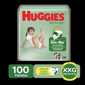 Pañales Huggies Active Sec Etapa 5/XXG, 50 Uds