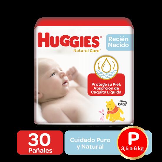 Pañales Huggies Natural Care Etapa 1/P, 50uds