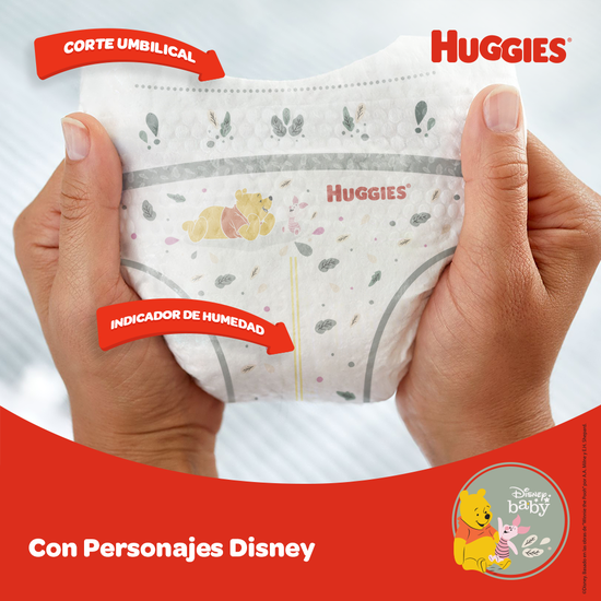 Pañales Huggies Natural Care Etapa 0/RN, 30uds