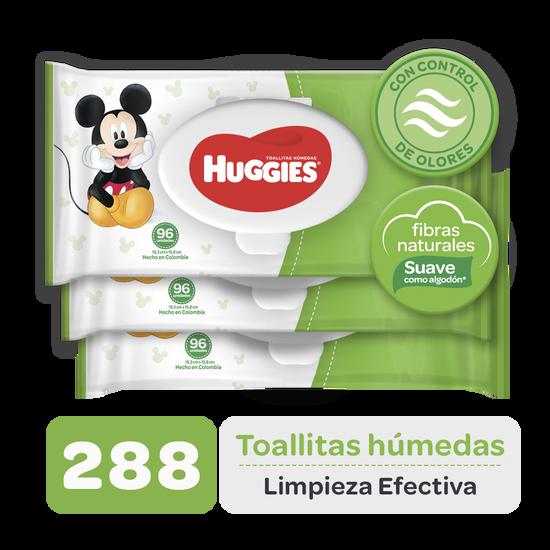 Toallitas Húmedas Huggies Limpieza Efectiva, 288uds