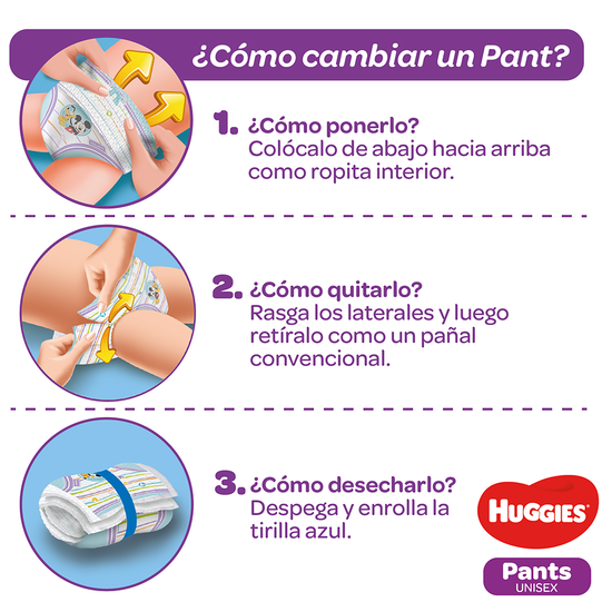 Pants Huggies Natural Care Etapa 5/XXG, 56uds