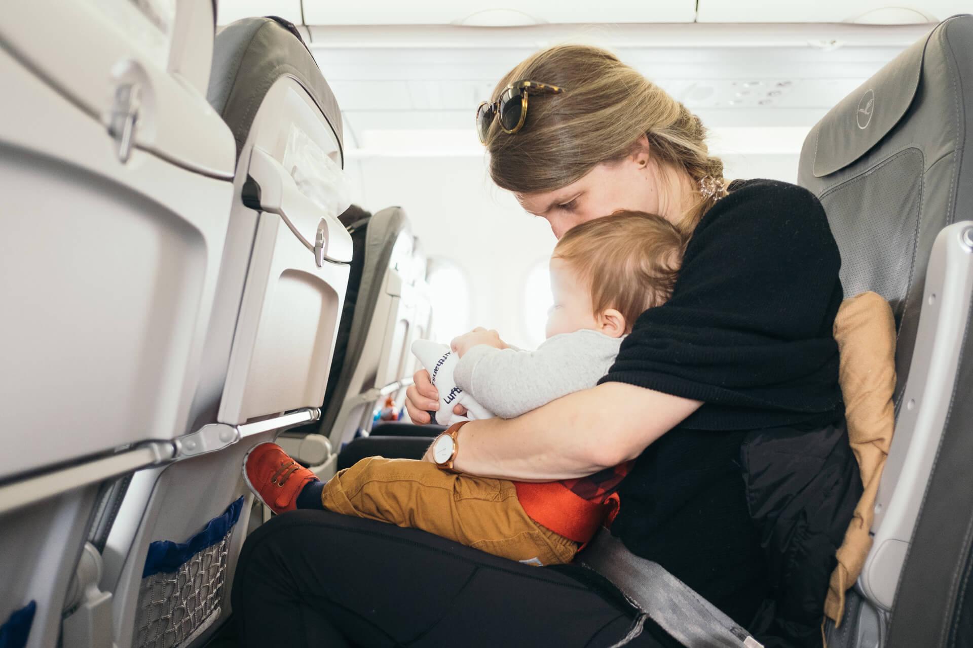 Manteniendo la calma durante el vuelo
